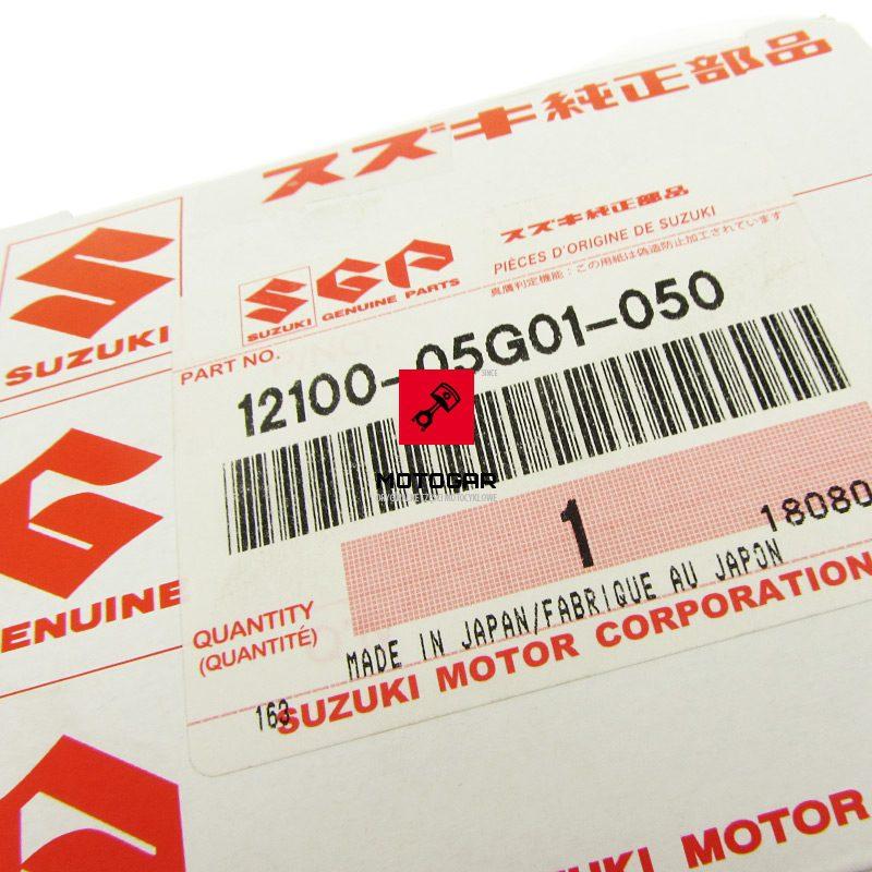 1210005G01050 Tłok pierścienie Suzuki LTZ 250 LTF 250 Ozark zestaw 0.50