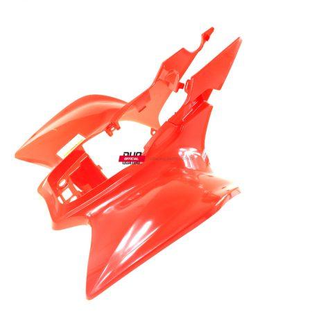 80100HP1000ZC Plastik tylny błotnik Honda TRX 450R Sportrax 04-05 czerwony