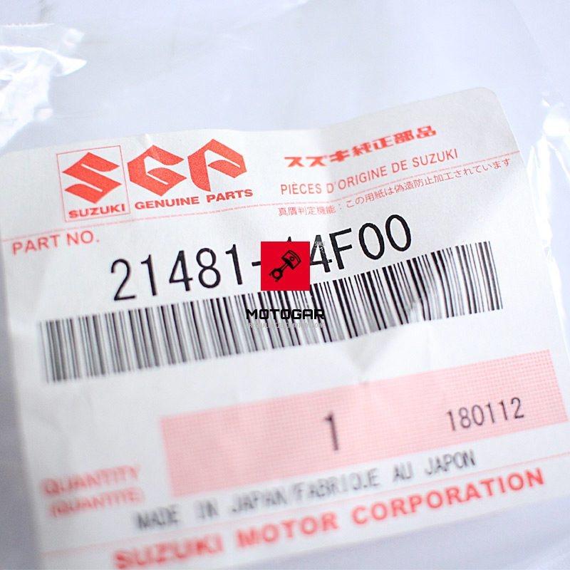 2148114F00 Ślizg wariatora Suzuki Eiger 400 Vinson 500 Kingquad 400 450 500 700 750