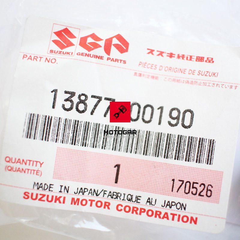 1387700190 Korek spustowy zatyczka airboxa Suzuki LT-F 250 QuadRunner 2000 2001