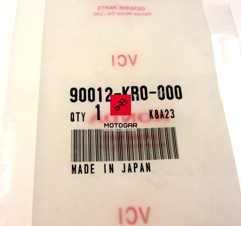 90012KR0000 Śruba regulacji dźwigienki zaworowej Honda TRX 400 SportTrax FourTrax 00-08