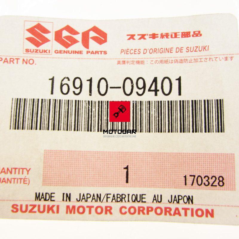 1691009401 Odpowietrznik tylnego hamulca szczęk Suzuki LTA 500F QuadMaster 2000 2001