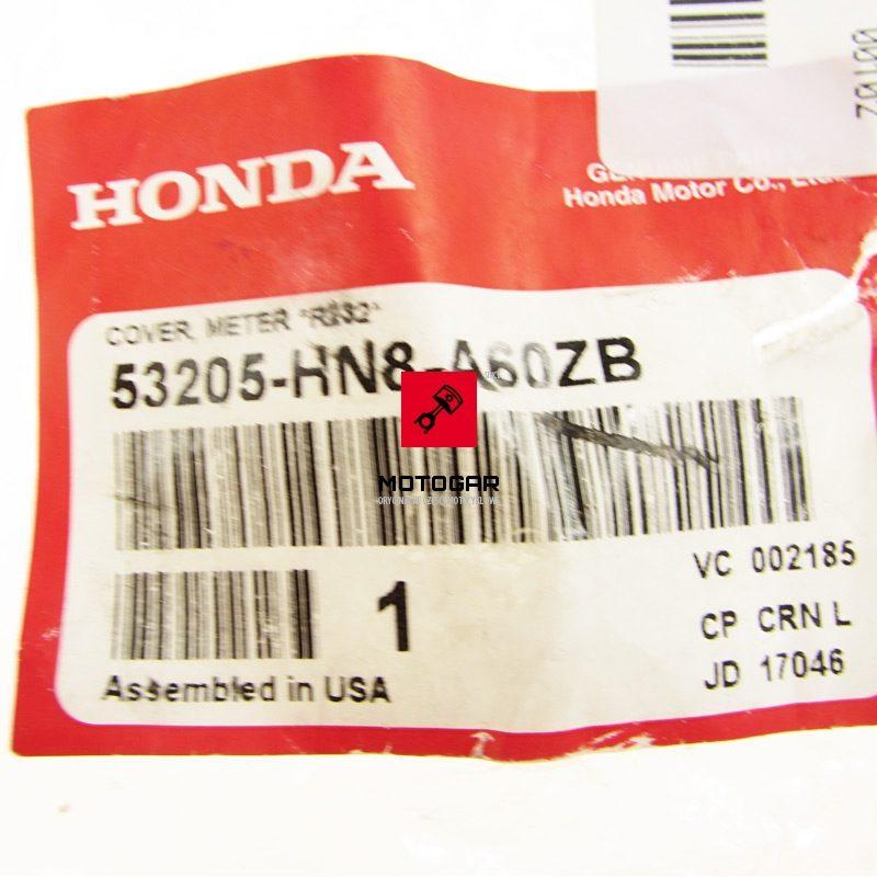 53205HN8A60ZB Osłona obudowa zegarów licznika Honda TRX 680 FOURTRAX RINCON