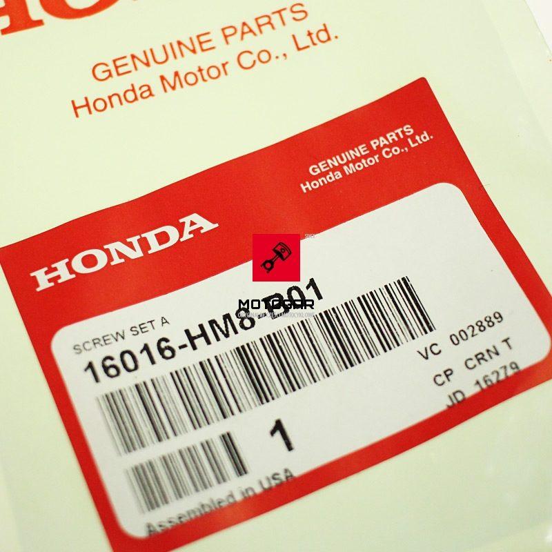16016HM8B01 Śruba regulacji składu mieszkanki Honda TRX 250 FourTrax Recon 2005-2010