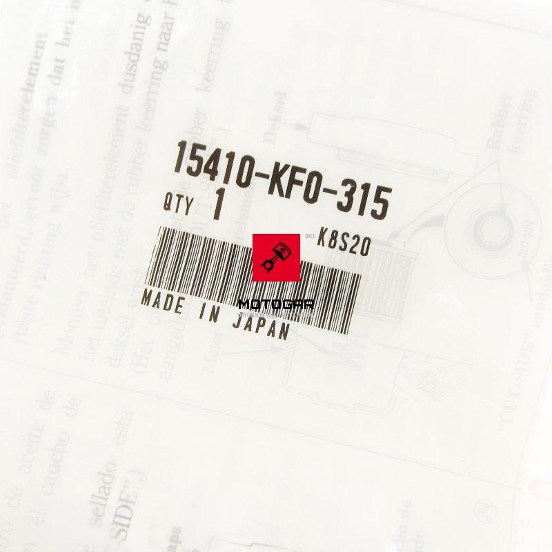 15410KF0315 Filtr oleju Honda TRX 700XX 2008 2009 2011