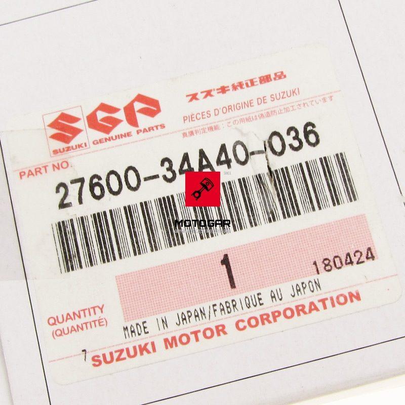 2760034A40036 Łańcuch łańcuszek napędowy Suzuki LT 80 QuadSport 1987-2006