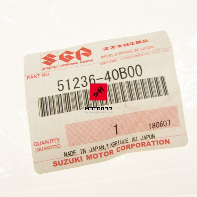 5123640B00000 Tuleja tulejka zawieszenia Suzuki LT 50 80 LTZ 50 90 Kingquad 450 700 LTA 50 LTF 160