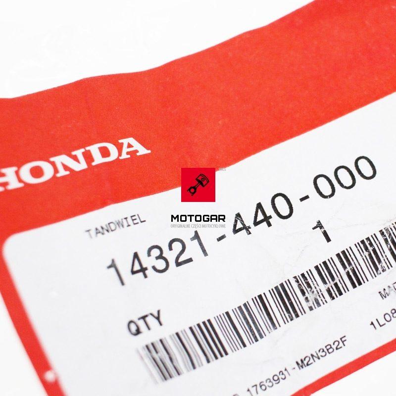 14321440000 Zębatka łańcuszka rozrządu Honda TRX 125 FourTrax 1987 TRX 200 FourTrax 1984