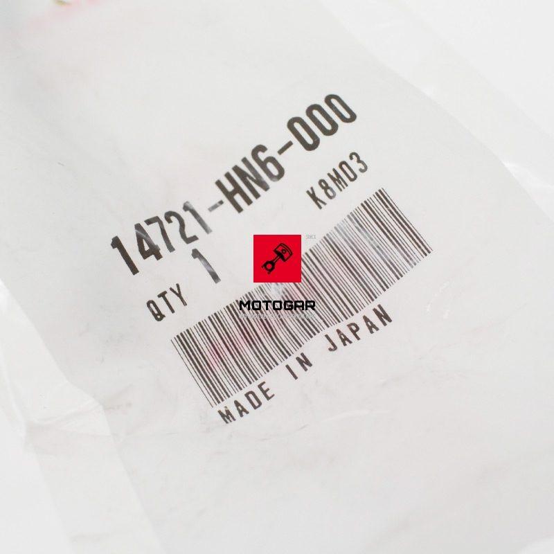 14721HN6000 Zawór wydechowy Honda TRX 250 SporTrax