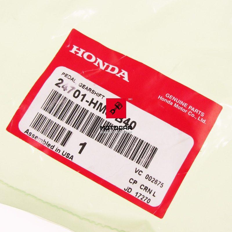 24701HM8B40 Dźwignia pedał zmiany biegów Honda TRX 250 FourTrax 2007-2010