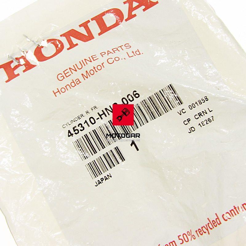 45310HN2006 Cylinderek hamulcowy cylinder bębnowy Honda TRX 350 400 500 650 FOURTRAX
