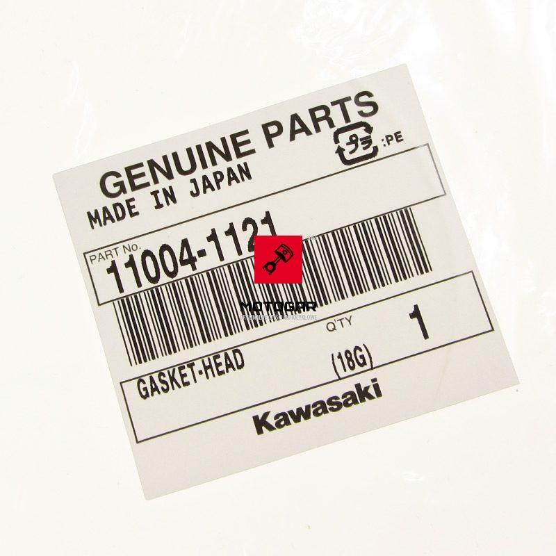 110041121 Uszczelka pod głowicę głowicy Kawasaki KSF 250 Mojave 250 1987-2005