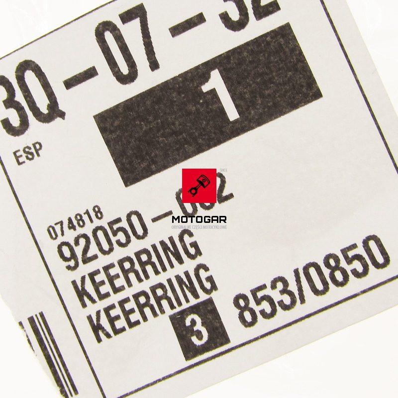 92050082 Uszczelniacz mostu dyfra Kawasaki KLF 300 Bayou 300 przód