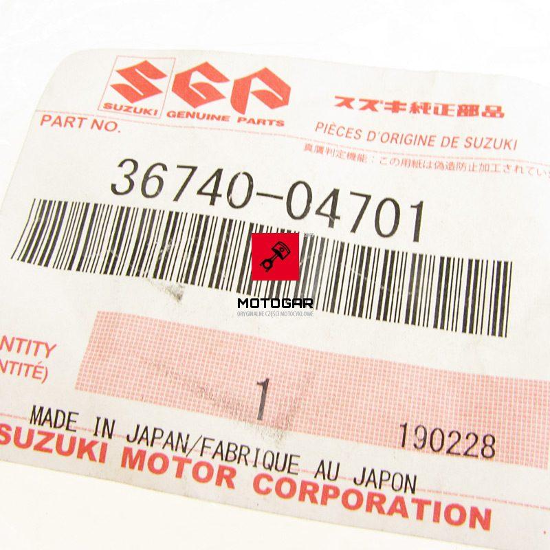 3674004701 Gniazdo bezpiecznika Suzuki QuadRunner LTF 250 160 Kingquad 300