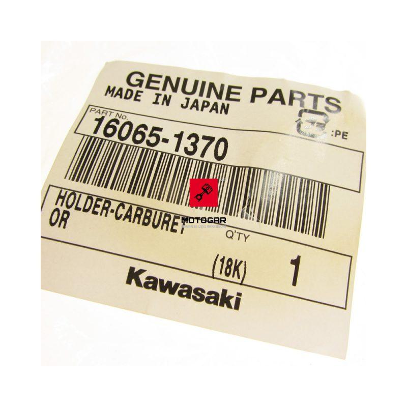 160651370 Króciec gaźnika Kawasaki Brute Force Prairie KVF 650 700 KFX