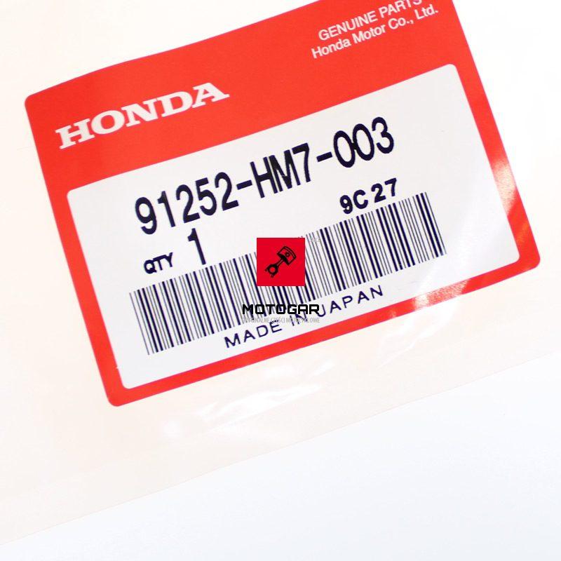 91252HM7003 Uszczelniacz tylnego hamulca Honda TRX 350 400 450 500 34X58X6