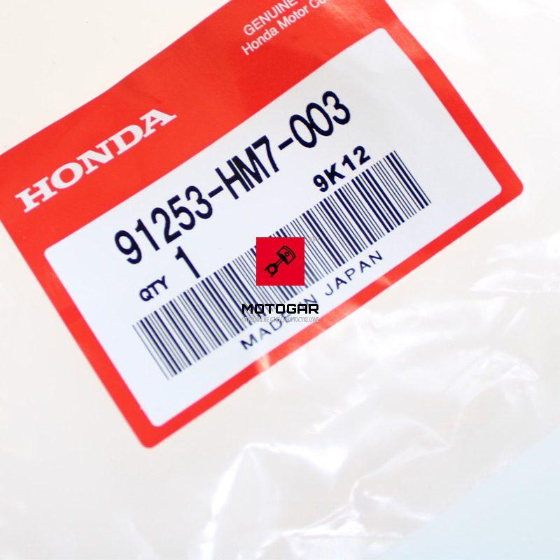 91253HM7003 Uszczelniacz tylnego hamulca Honda TRX 350 400 450 500 41X76X19