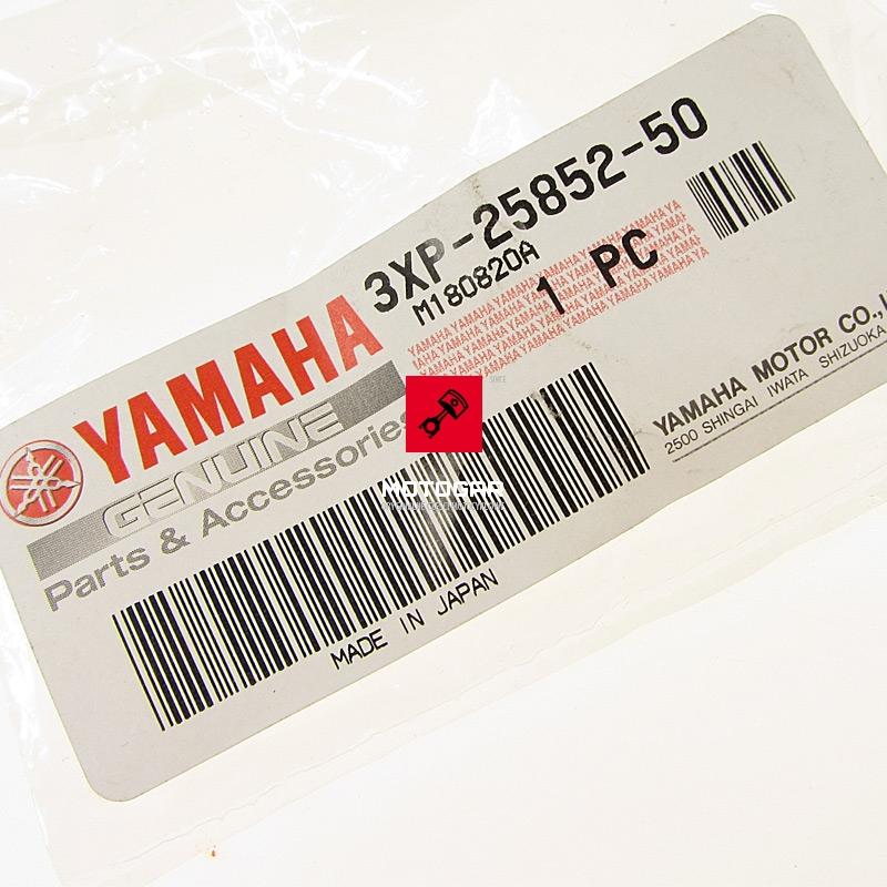 3XP258525000 Korek zbiorniczka płynu hamulcowego Yamaha Grizzly Raptor YFM YFZ etykieta