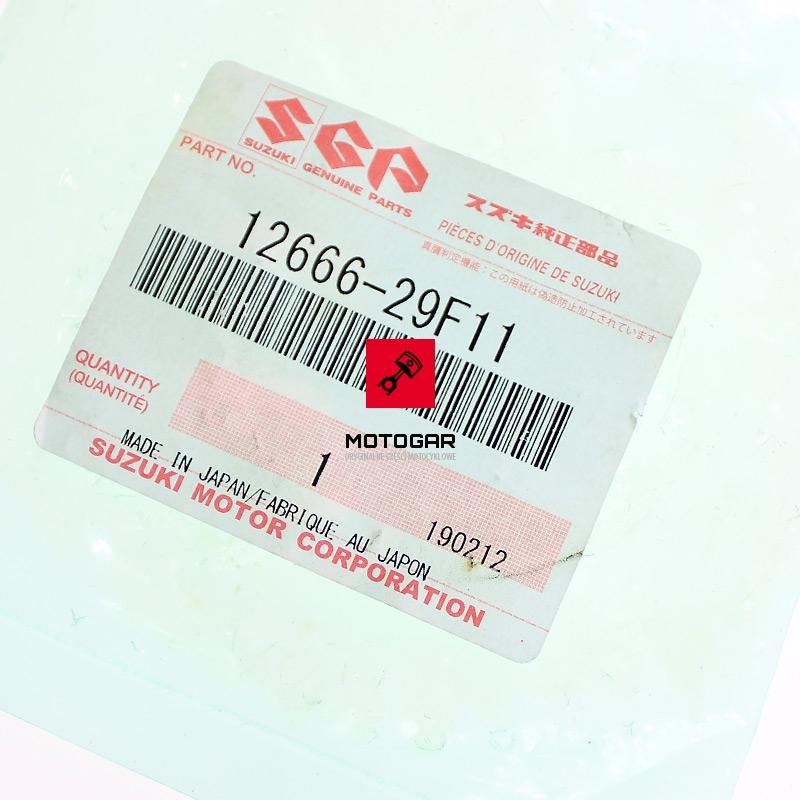 1266629F11 Tryb wałka balansowego Suzuki LTZ 400 Quadsport 2003-2008 etykieta