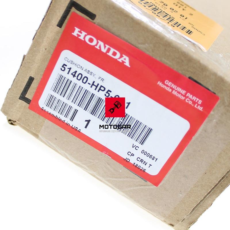 51400HP5601 Amortyzator Honda TRX 420 przedni 2007-2009 rtykieta