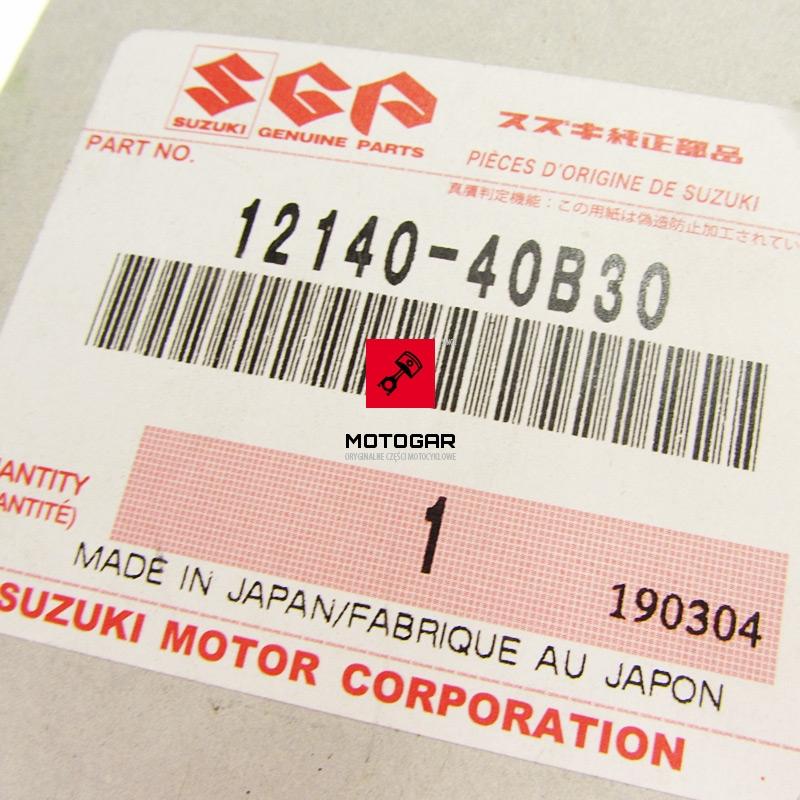 1214040B30 Pierścienie tłoka tłokowe Suzuki LT 80 2000-2006 Quadsport nomiał std