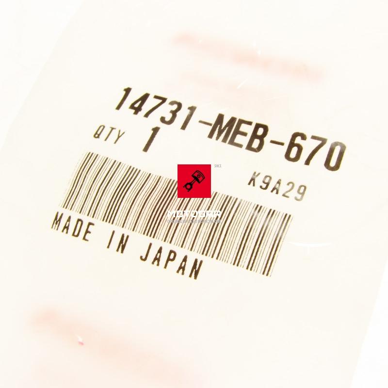 14731MEB670 Popychacz szklanka zaworu zaworowa Honda TRX 450 Sportrax