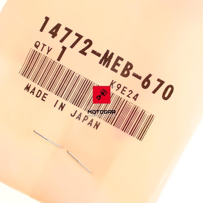 14772MEB670 Talerzyk miseczka zaworu Honda TRX 450 Sportrax 2006-2009 2012-2013
