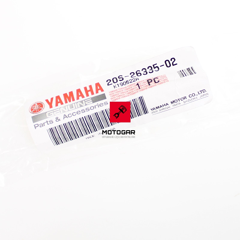 1S3181011000 Wałek zmiany biegów Yamaha YFM 700 Raptor 2006-2018