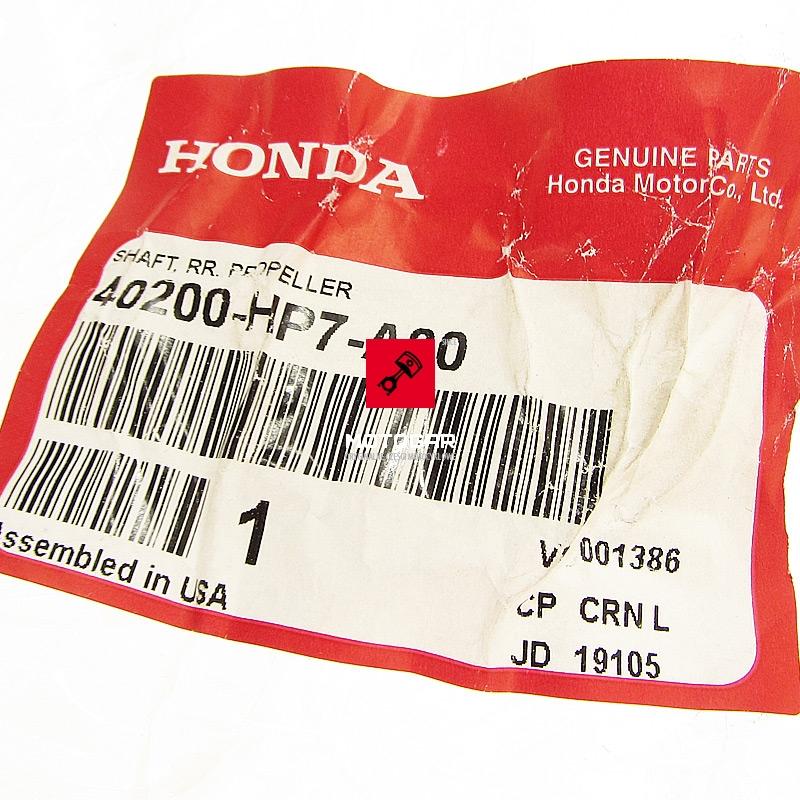40200HP7A00 Wał wałek napędowy Honda TRX 420 Fourtrax Rancher 2010-2013