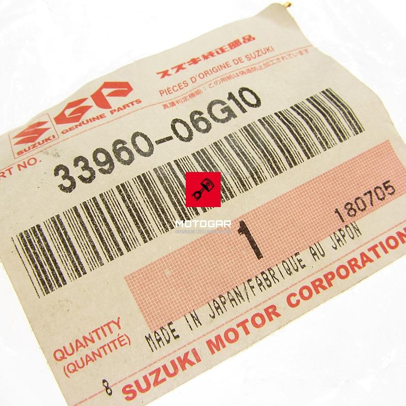 3396006G10 Czujnik odcięcia paliwa Suzuki LTF 400 LTZ LTA 400 450 500 700 750 Kinquad Quadsport