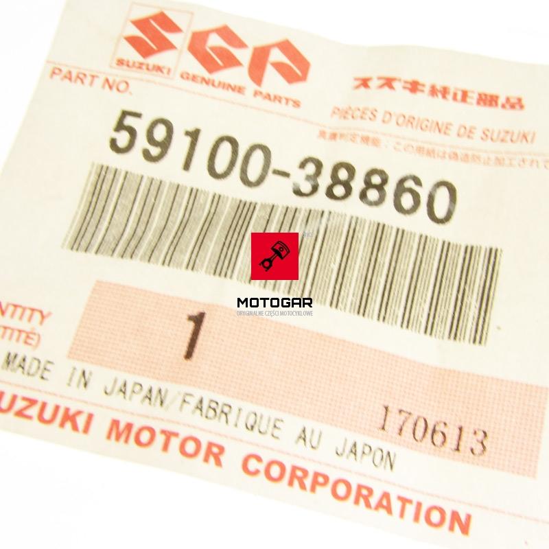 5910038860 Uszczelki tłoczka hamulcowego Suzuki LTF LTA LTZ 250 400 500 przód