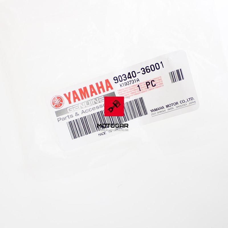 9034036001 Korek inspekcyjny pokrywy sprzęgła Yamaha YFM 700 Raptor 2007-2010
