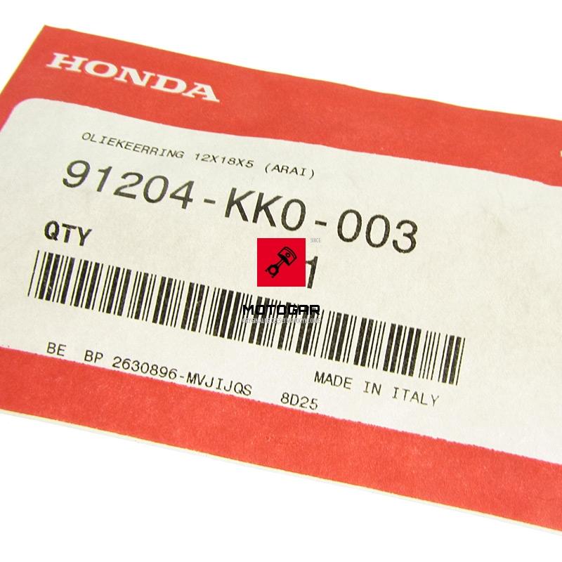 91204KK0003 Uszczelka wysprzęglika Honda TRX 250 300 400 Sportrax Fourtrax