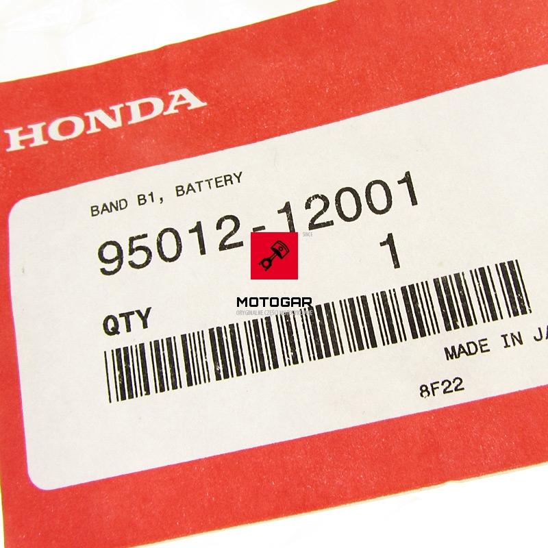 9501212001 Pasek akumulatora Honda Sportrax Fourtrax TRX 450 TRX 420