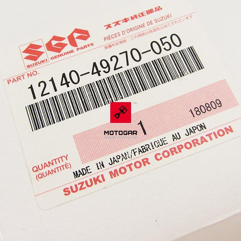 0931914005 Tuleja poduszka silnika Suzuki LT 80 Quadsport 1987-2006 etykieta