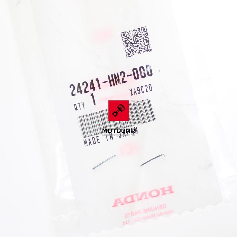 24241HN2000 Wałek wodzików Honda TRX 500 2001-2013 etykieta