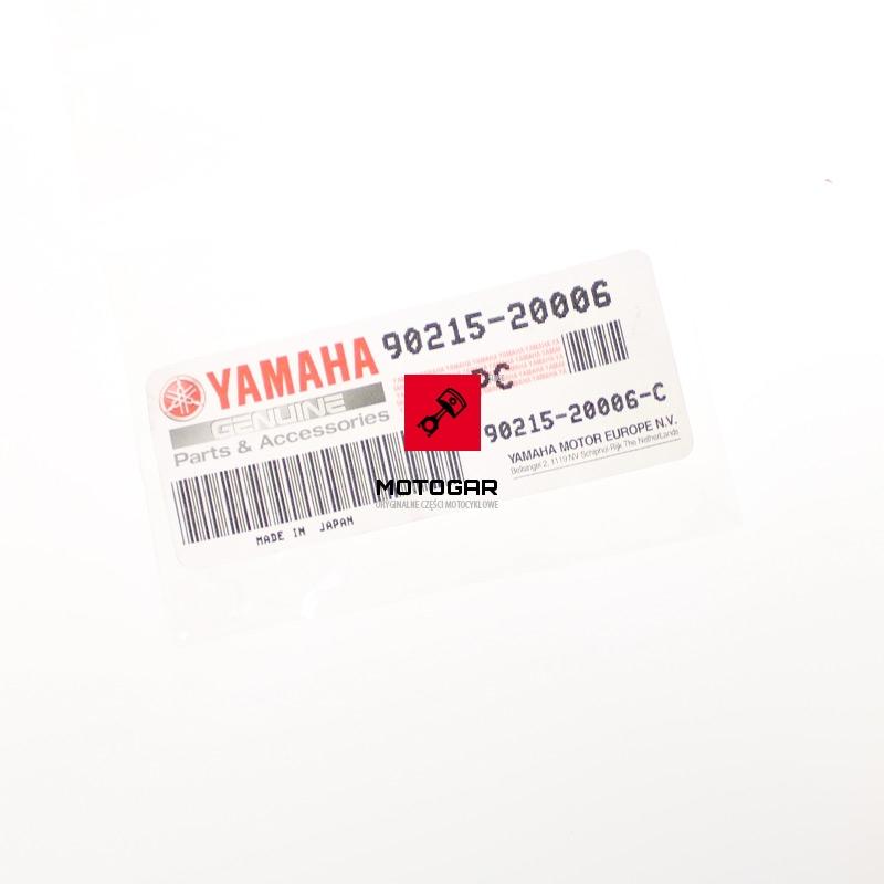 9021520006 Zabezpieczenie nakrętki wału Yamaha Raptor 700 etykieta