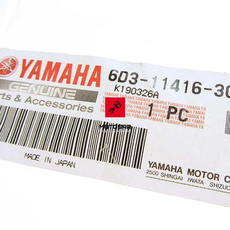 6D31141630 Panewki panewka wału korbowego Yamaha VX 1100 FRT 1100 zielone