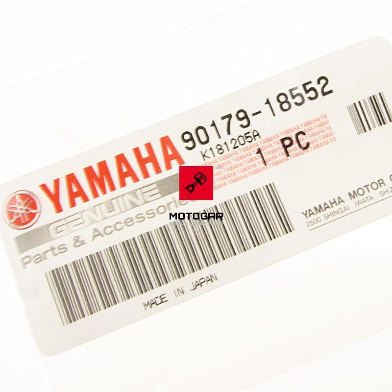901791855200 Nakrętka zębatki zdawczej Yamaha YFM 250R Raptor 2008-2013