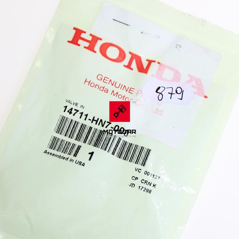 14711HN7000 Zawór ssący Honda TRX 400 Fourtrax Rancher 2004-2007 1