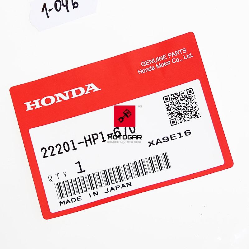 22201HP1670 Tarcza sprzęgła Honda TRX 450 TRX 700 końcowa