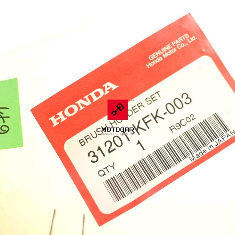 31201KFK003 Szczotko trzymacz rozrusznika Honda TRX 450 Sportrax 2006-2009