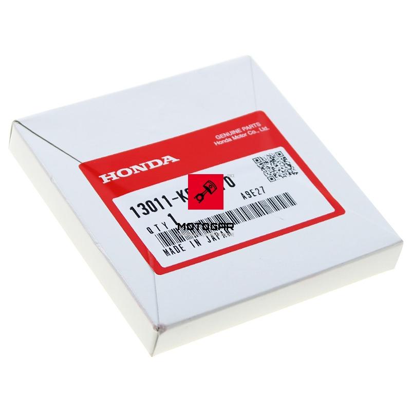 13011KCY670 Pierścienie tłokowe Honda TRX 400 2000-2008 Sportrax Fourtrax nominał