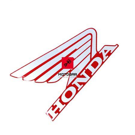 87121HP0A20ZA Naklejka emblemat baku zbiornika paliwa Honda TRX 500 650 680 Fourtrax Foretrax