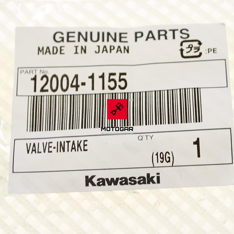 120041155 Zawór Kawasaki KVF 360 2003-2013 ssący