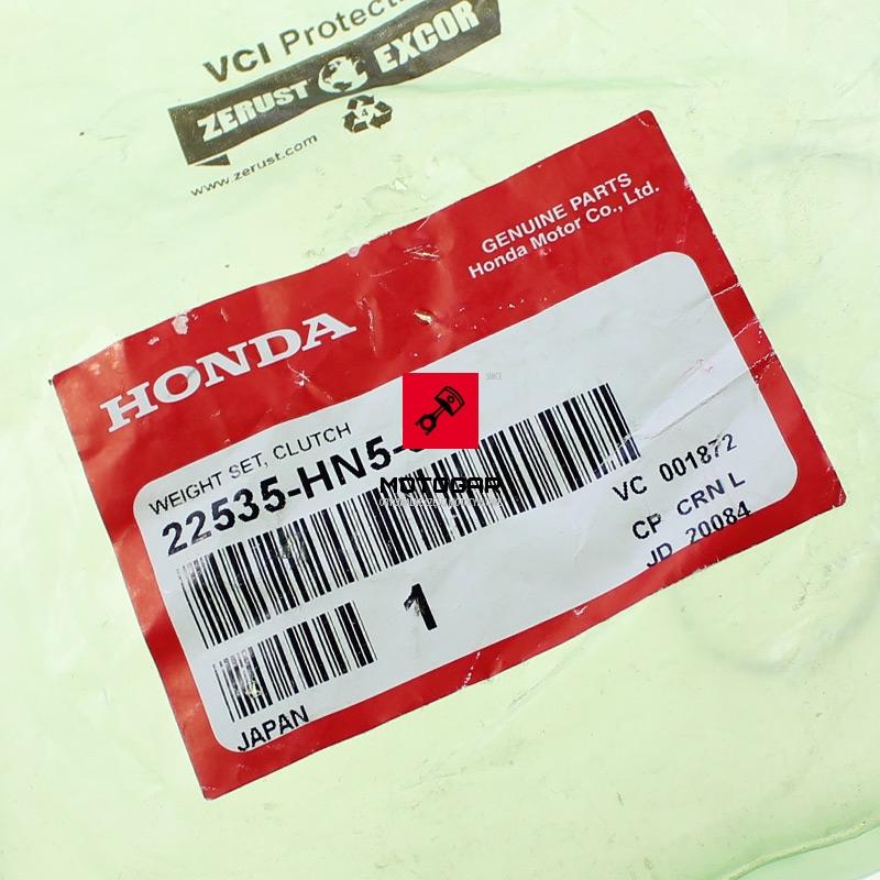 22535HN5670 Szczęki sprzęgła odśrodkowego Honda TRX 350 Fourtrax 2000-2006
