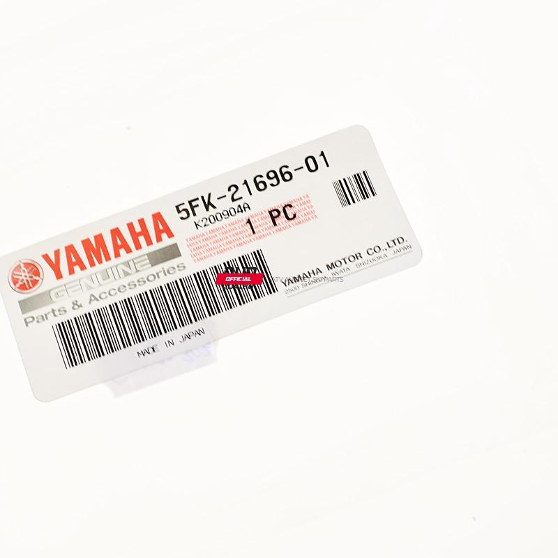 5FK2169601 Naklejka informacyjna Yamaha YFZ 350 Banshee 2000 2001