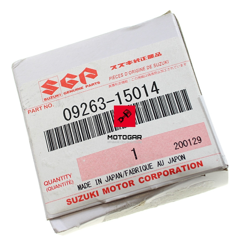 0926315014 Łożysko korbowodu Suzuki LT 50 Quadrunner LTA 50 Quadsport dolne
