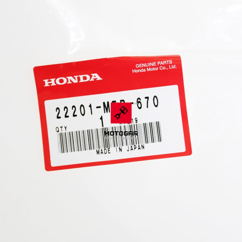 22201MEB670 Tarcza sprzęgła Honda TRX 450 700 Sportrax