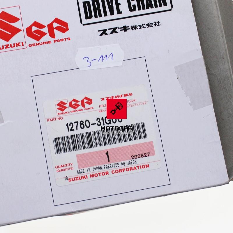 1276031G00 Łańcuszek rozrządu Suzuki Kingquad LTA 700 750 2